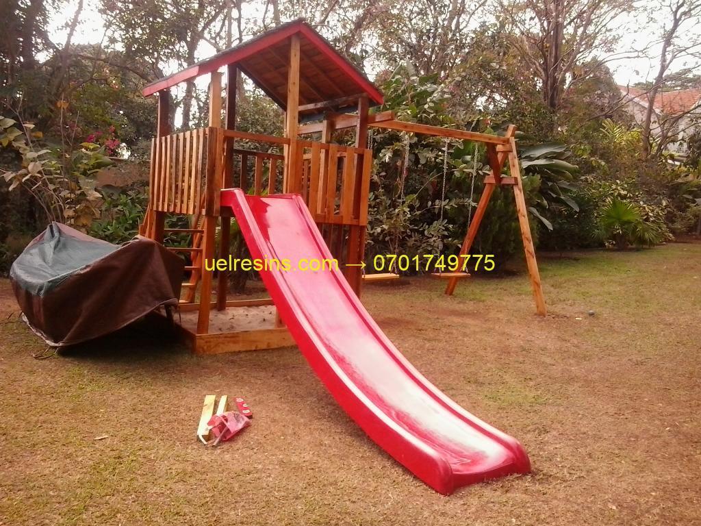 Fibreglass Playground or Pool Side Slide