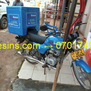 GRP Motor Cycle Delivery Box