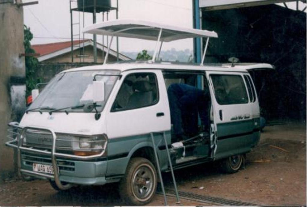 Camper Van Fibreglass Top Roof for Bus, Vans, Super Custom made in Kampala Uganda