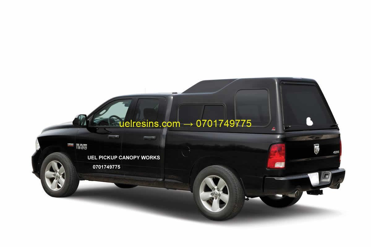 Fibreglass Pickup Truck Bed Canopy Cover in Uganda
