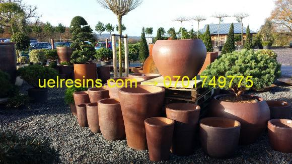 Fibreglass Pots and Planters Moulding - made from Resin in Uganda