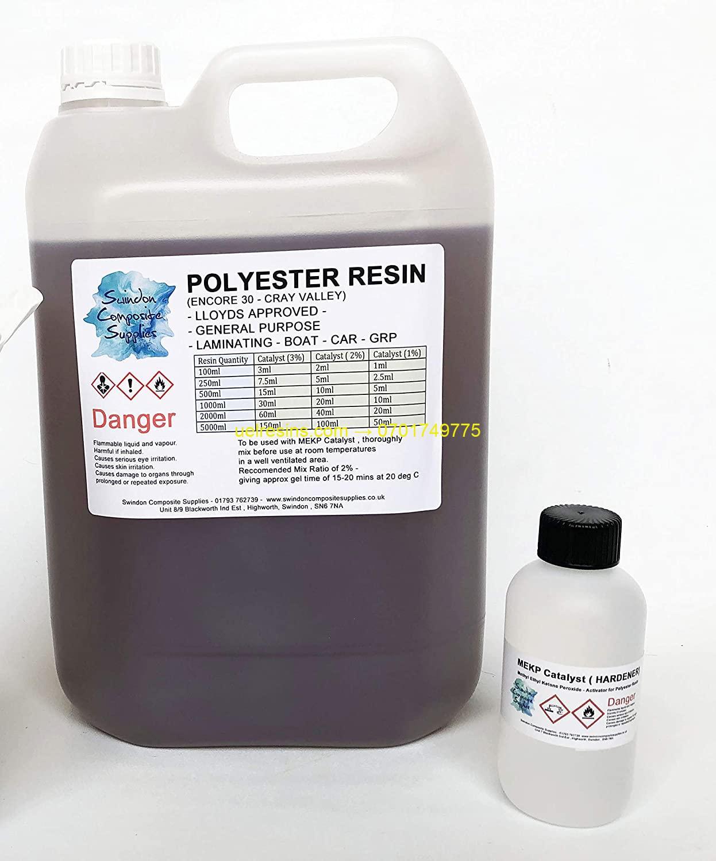 Polyester Resin and Hardener for General Purpose Use in Rwanda