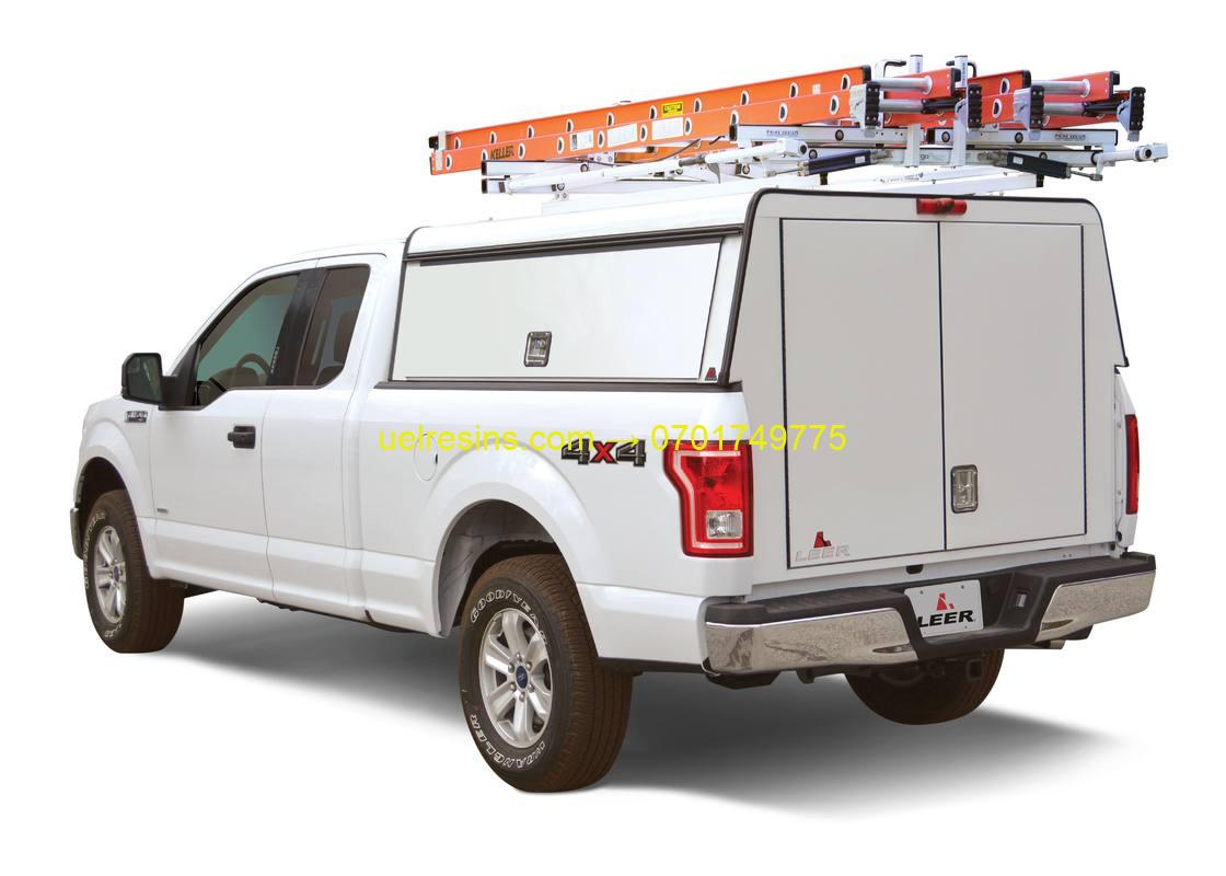 Technical Team Truck with Mounted Accessories