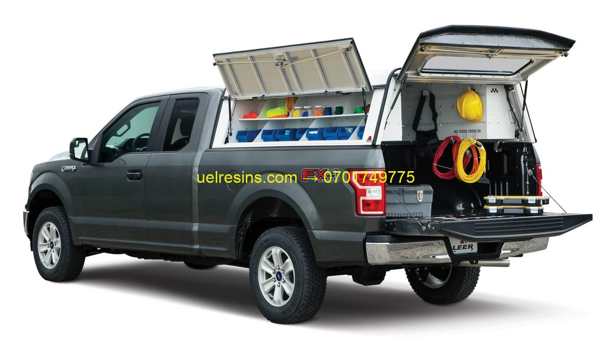 Technical Team Pickup Canopy