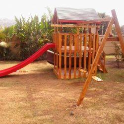 Fibreglass Playground Slide